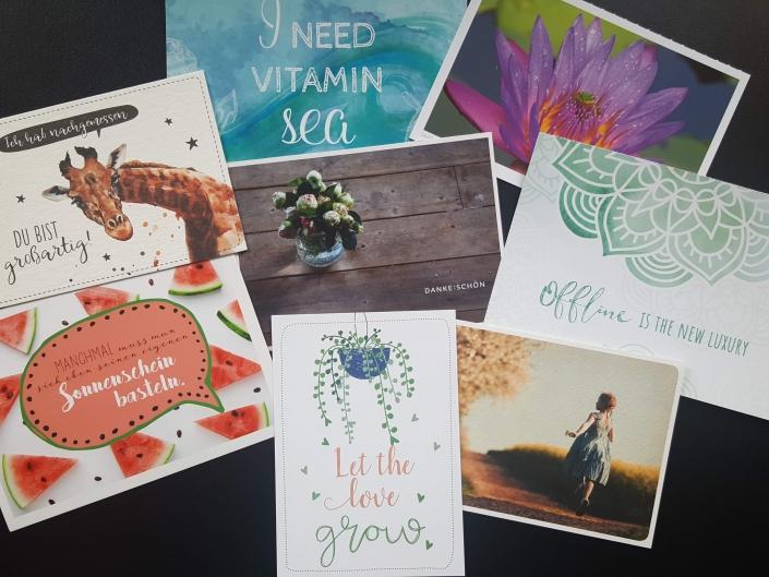 Waltraud Kieß-Haag: Ich schicke dir bis Weihnachten jede Woche eine Postkarte aus meinem bunten Vorrat.