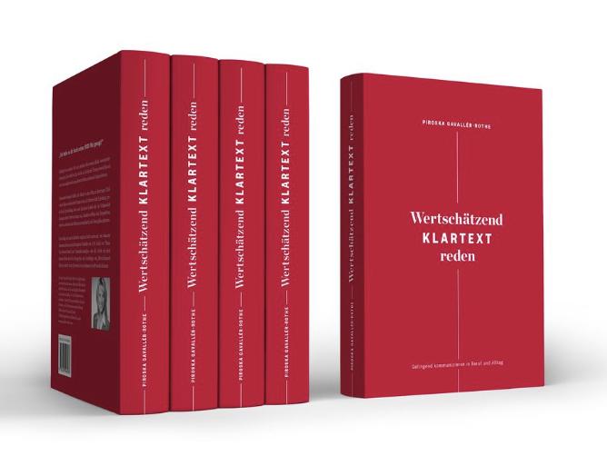 """Piroska Gavallér-Rothe: Drei Menschen mag ich mit erhellenden Erkenntnissen rund um die GFK und weit darüber hinaus erfreuen und stelle deshalb drei Exemplare meines Buches """"Wertschätzend Klartext reden"""" zur Verfügung."""