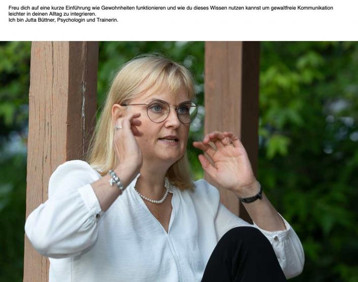 Jutta Büttner: kurze Einführung wie Gewohnheiten funktionieren